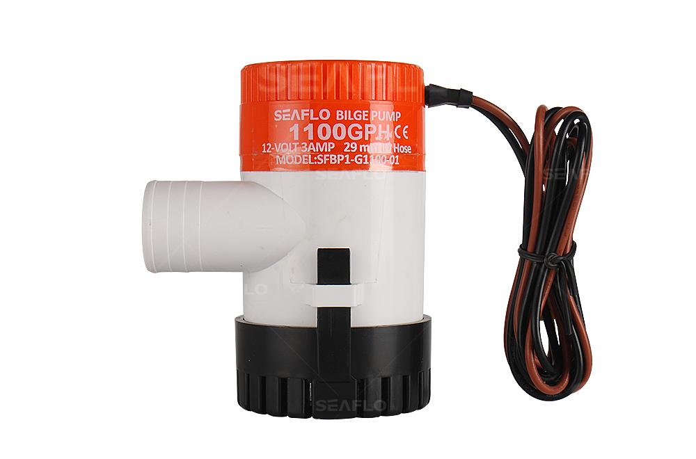 Inline Float Switch : Bilge pump v seaflo gph dc submersible marine