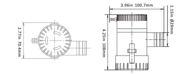 seaflo 1100gph bilge pump