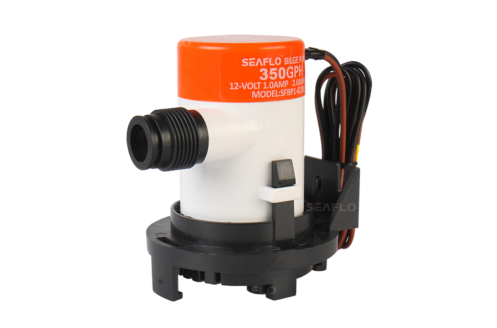 Inline Float Switch : Marine submersible pump seaflo gph v a