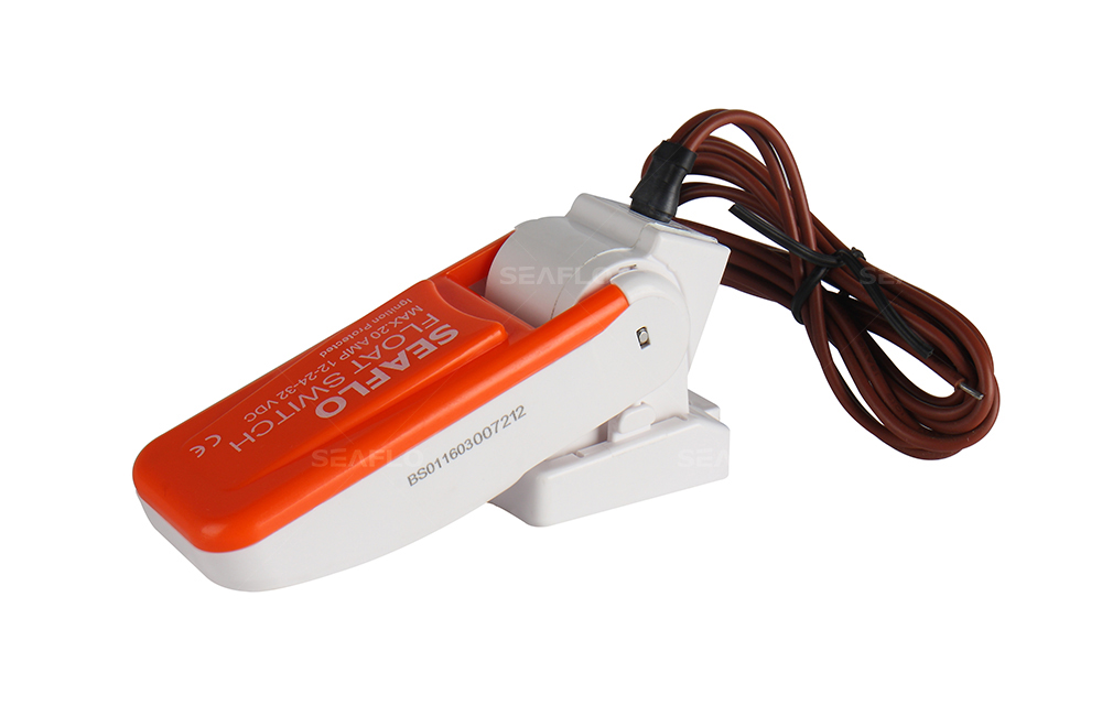 Inline Float Switch : China s seaflo v a marine boat electric floating