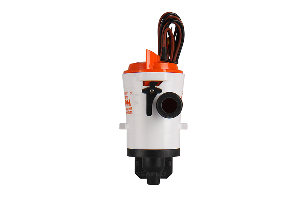 SEAFLO 350GPH 12V Livewell Bait Well Submersible Water Pump System Kit