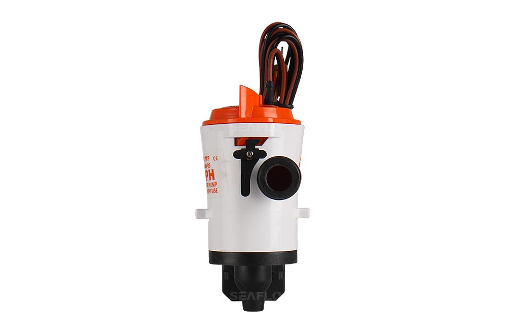 Livewell Pump 12V 800GPH 4.0A Livewell Live Bait Tank Aerator Submersible Cartridge Boat Bilge Pump 3028LPH