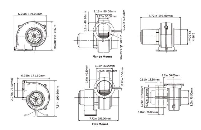 12 volt bilge pump wiring diagram free picture boat bilge blower | 130 cfm marine ventilation bilge fan ... bilge blower engine diagram #8
