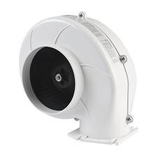 03 Series SEAFLO Flange Mount Bilge Blower Fan 320 CFM