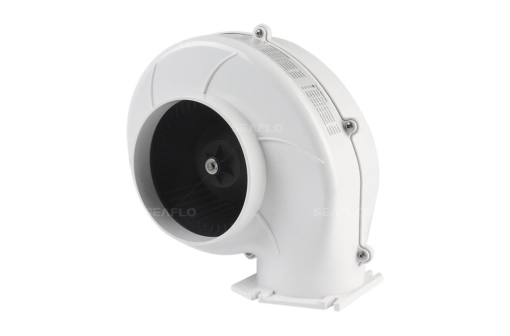 Boat Circulation Fan : Seaflo cfm v a marine boat ventilation bilge fan