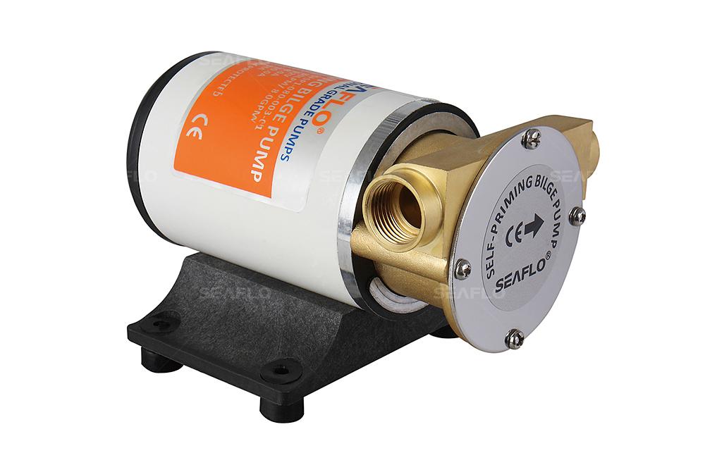 Inline Float Switch : Seaflo marine gpm self priming impeller bilge pump