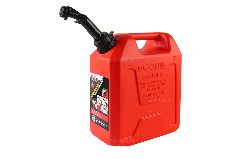 SEAFLO Plastic 20L Auto Shut Off Fuel Diesel Gasoline Can ...