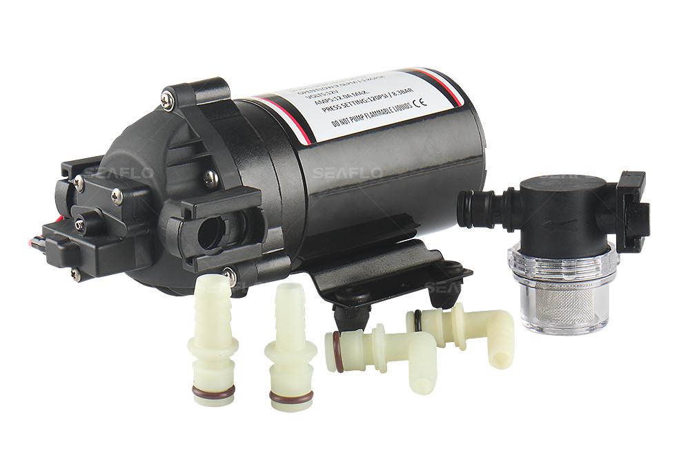 Self priming diaphragm pump triplex hi pressure diaphragm pumps 35 series dc diaphragm pump 12v24v 20 80lpm 17 160psi ccuart Images
