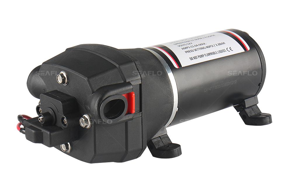 Rv 12v water pump seaflo water pump 41 series diaphragm water pumps 12v24v 30 170lpm 17 60psi ccuart Choice Image