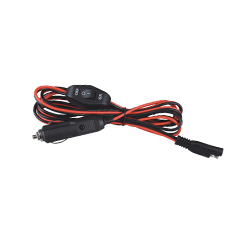 Car Adapter Wiring Harness with On / Off Switch