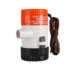 01 Series 500GPH Seaflo DC Submersible Pump