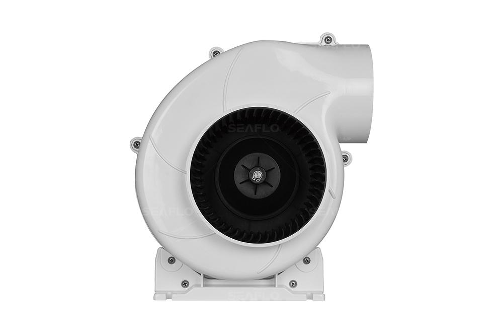 12 Volt Blower Fan | SEAFLO 320 CFM 12V 11 6A Marine Bilge Fan Blower