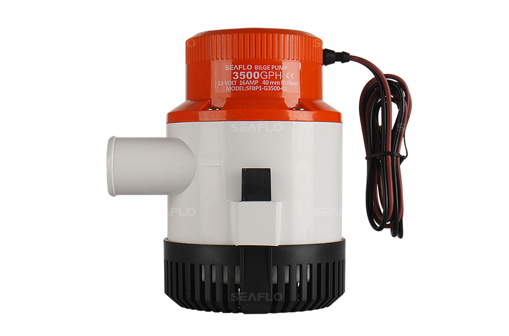 Inline Float Switch : Small boat bilge pump seaflo gph v submersible