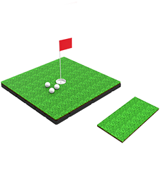 Golf Floating Greens