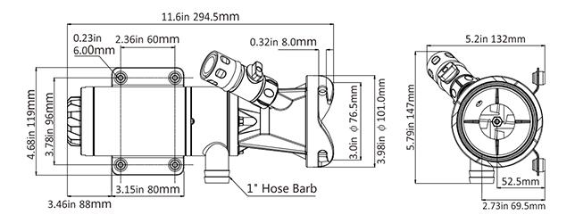 boat toilet macerator