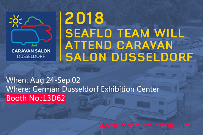 SEAFLO team will attend CARAVAN SALON DUSSELDORF 2018