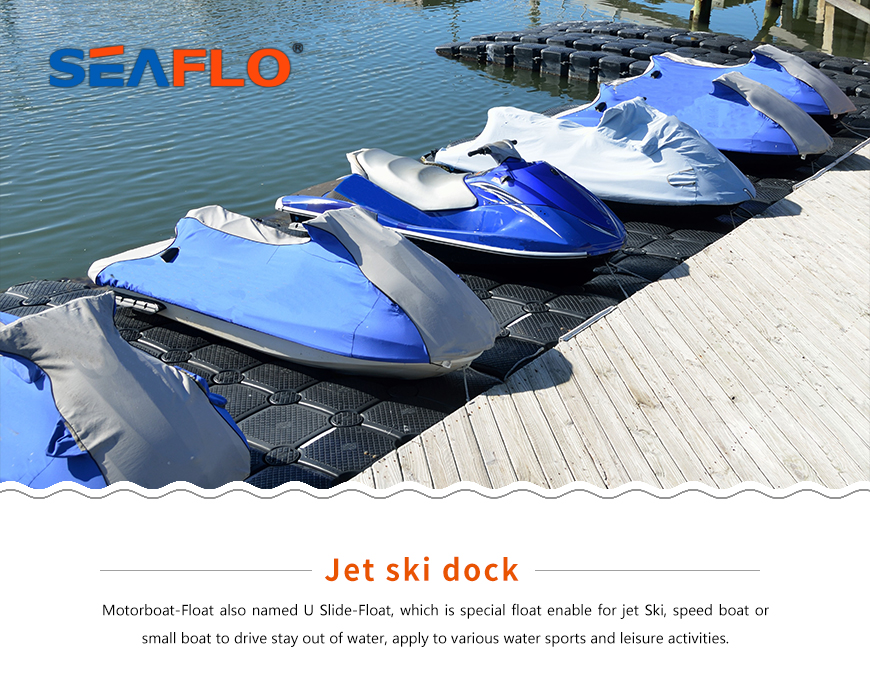 Seaflo Jet ski dock For Various water Sports And Leisure