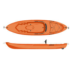 SEAFLO Blow molded kayaks SF-1010