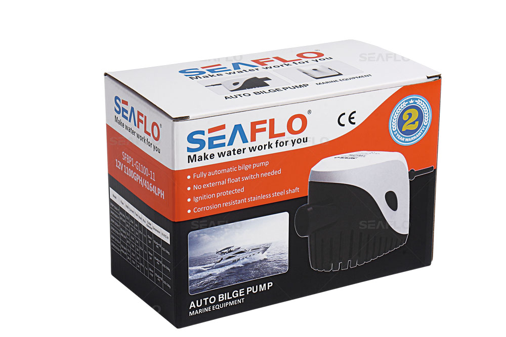 SEAFLO 11 Series 600 GPH SEAFLO Automatic Bilge Pump with Magnetic Float Switch