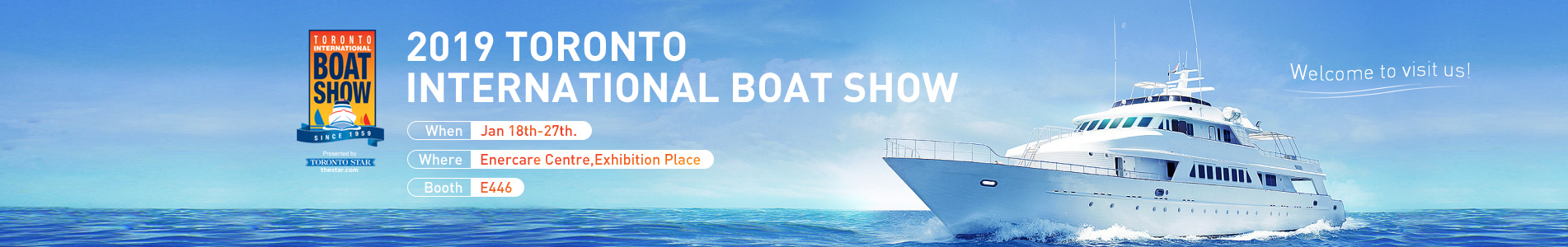SEAFLO team will attend 2019 Toronto International Boat Show