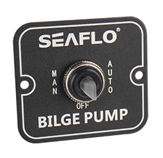 SEAFLO 3 Way Switch Panel SFSP-01