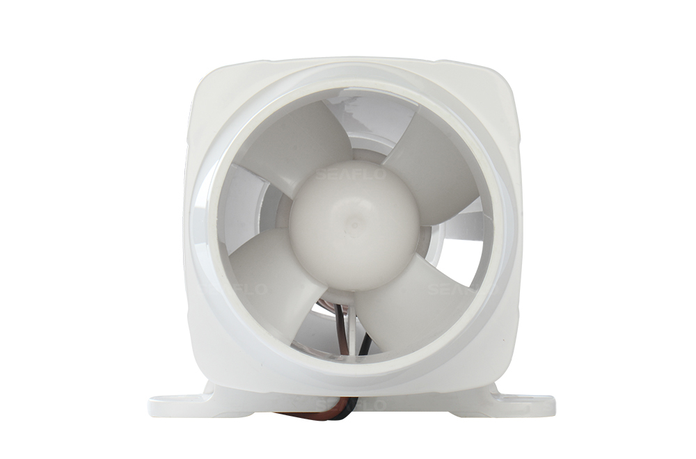 SEAFLO 3″ 130CFM In-Line Bilge Blower Fan