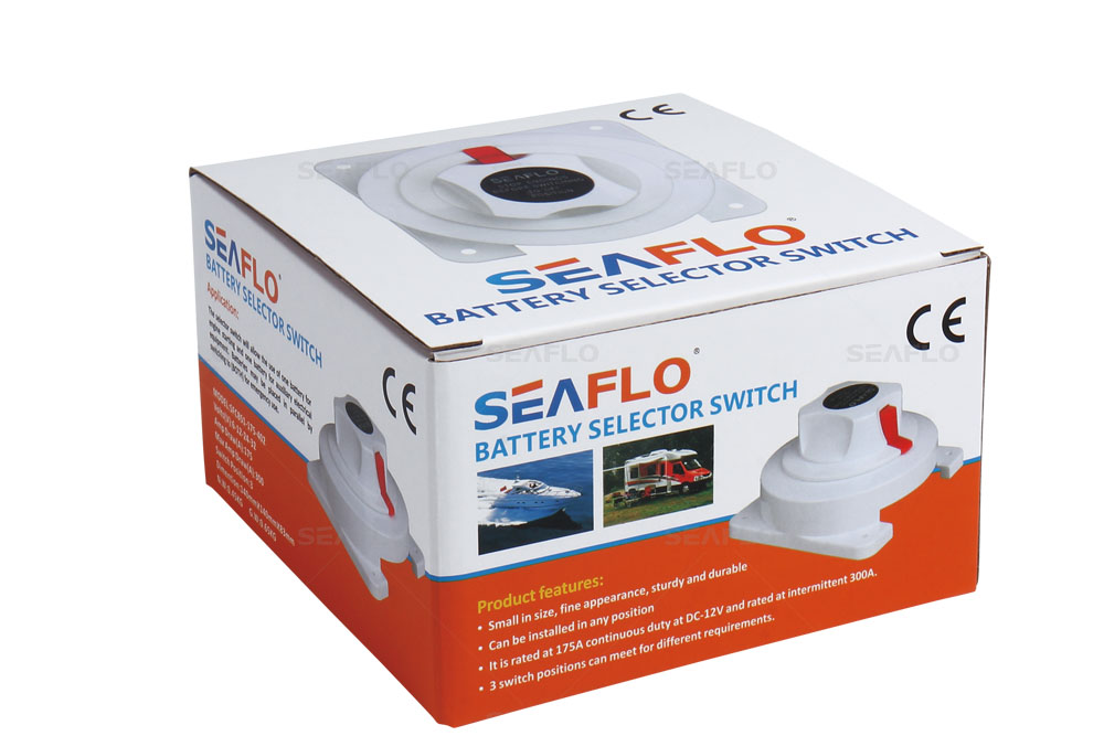 SEAFLO Battery Selector Switch