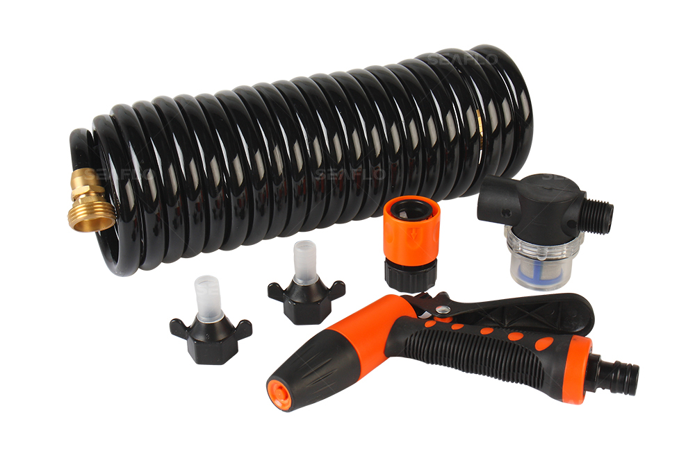 33 Series Washdown Pump Kit With Coiled Hose