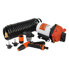 51 Series Washdown Pump Kit With 6m Coiled Hose