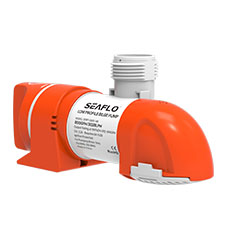SEAFLO 14B Series Narrow Low Profile Time Sensing Automatic Bilge Pumps